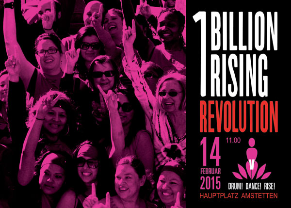Flyer One Billion Rising 2014