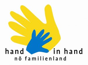 Logo Hand in Hand NÖ Familienland