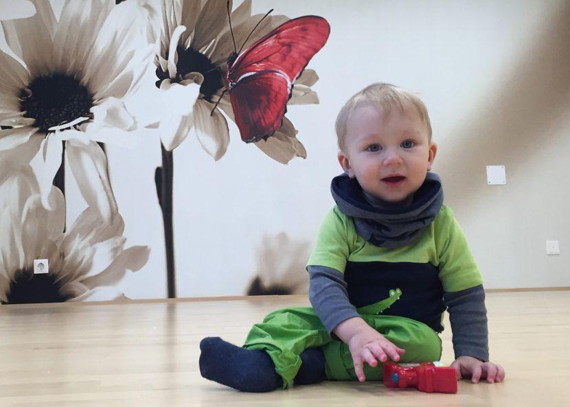 Foto eines Babies