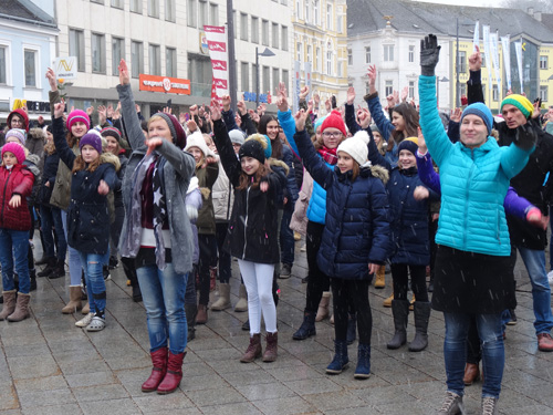 Foto One Billion Rising 2018 Amstetten