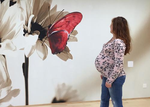 Foto von einer Schwangeren