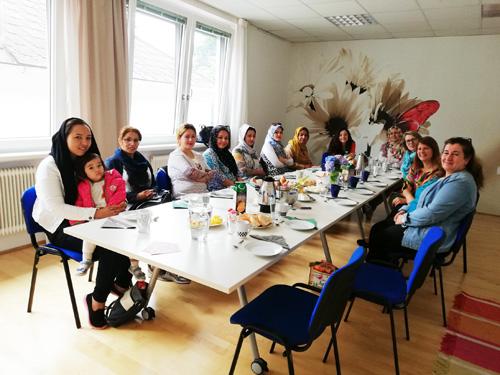 Foto vom Interkulturellen Frauencafé